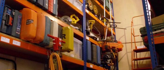 Power Tool Storage